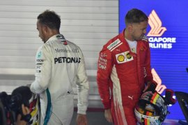 """Kabut asap """"mengancam"""" gelaran F1 Singapura"""