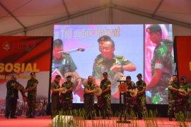 Kasad : dari Sabang sampai Merauke bakti TNI untuk rakyat Indonesia