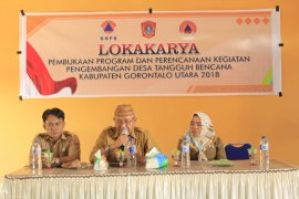 Gorontalo Utara Bentuk Desa Tangguh Bencana
