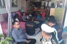 Polda beri terapi psikologi pengungsi Palu-Donggala di Badung