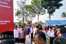 Ketua PBNU letakkan batu pertama Kampus Unusia