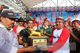 24 Pasangan Sapi Berebut Piala Bergilir Presiden RI