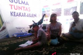 Puluhan korban gempa Palu mengungsi di Samarinda