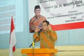 Mahyudin imbau masyarakat tidak bermusuhan karena pilihan politik