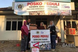 PWI Babel kirim relawan ke Sulteng