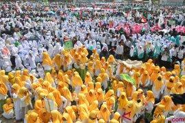 Peringatan Hari Santri Nasional di Tasikmalaya