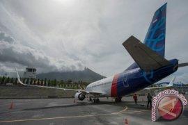 Pesawat Sriwijaya pecah ban di bandara Supadio Pontianak