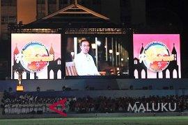Presiden Jokowi sampaikan testimoni pembukaan Pesparani nasional