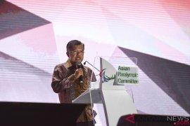 Wapres Jusuf Kalla: Atlet Asian Para Games pemenang kemanusiaan