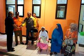 Satu keluarga korban gempa Palu dipulangkan ke Cianjur