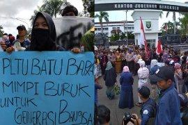 Mahasiswa minta Gubernur Bengkulu cabut izin lingkungan PLTU