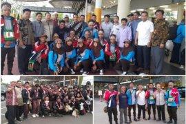Kontingen Perkemahan Pramuka Santri Nusantara mulai berdatangan