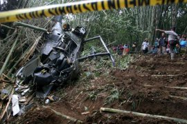 Lima orang tewas akibat kecelakaan helikopter di Kota Ji\'an China