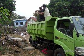 BBWSCC mulai tangani kerusakan tanggul Kali Bekasi