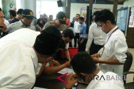 Pesawat Lion Air dengan nomor penerbangan JT 610 rute Jakarta- Pangkalpinang hilang kontak