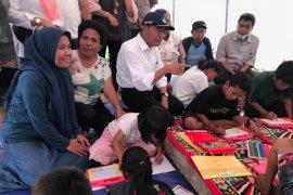 Kemudahan akses untuk korban gempa-tsunami