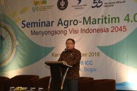 Menteri PPN/ Bappenas apresiasi konsep pembangunan Agro-Maritim 4.0 dari IPB