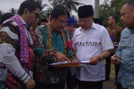 Sofyan Djalil: Tanah Pelindo Bengkulu segera disertifikasi untuk masyarakat