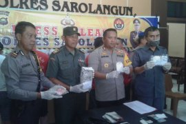 Dalam sepuluh bulan Polres Sarolangun tangkap 68 tersangka narkoba