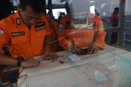 Pemetaan lokasi pencarian puing Lion Air JT 610