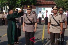 Polres Pangkalpinang mutasi tiga perwira untuk penataan personel
