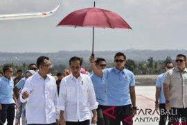 Presiden kunjungi penanganan dampak gempa di NTB