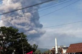 BNPB: Status Gunung Soputan Siaga