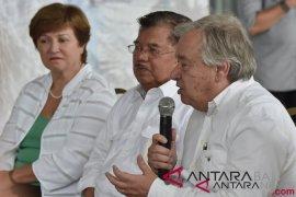 Wakil Presiden sambut Sekjen PBB di bandara Palu