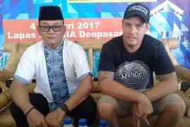 Kanwil Kemenkumham Bali bebaskan Renae Lawrence dari Rutan Bangli (video)