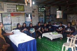 Antam Fasilitasi Kader Posyandu Lansia Toras Belian Studi Banding ke Pontianak