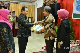 Kepala Dinas Pertanian HSS H Fathurrahman pamit purna tugas