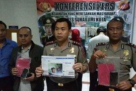 Polisi tangkap pemuda penyebar hoaks di Sukabumi