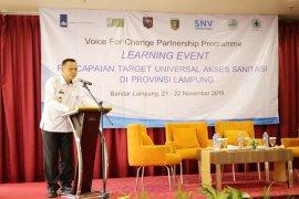 Lampung Bebas Warga BAB Sembarangan Pada 2019