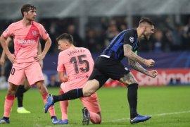 Barcelona amankan tiket 16 besar, setelah curi satu poin dari Giuseppe Meazza