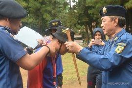 Damkar Bogor lakukan pelatihan darurat bencana kebakaran
