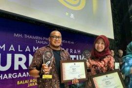 Dua pewarta LKBN Antara raih penghargaan jurnalistik MH Thamrin