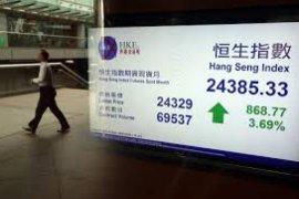 Saham Hong Kong  bangkit, Indeks HSI dibuka 1,17 persen