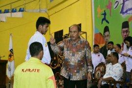 Forki Medan juara umum kejuaraan Karate Tebing Tinggi