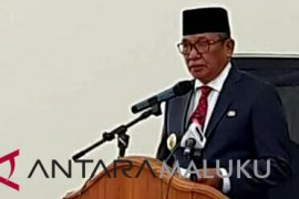 Thaher Hanubun pidato perdana di DPRD Malra