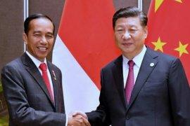 Presiden Jokowi bahas perdagangan dengan Xi Jinping
