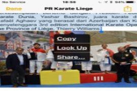 Hebat, Karateka pelajar Indonesia meraih 10 medali emas di Belgia