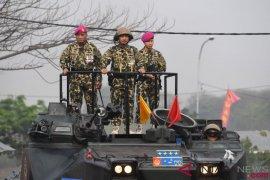 KSAL resmi jadi warga kehormatan Korps Marinir