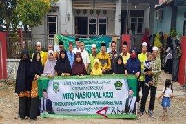 Kafilah Balangan raih prestasi di MTQ  tingkat provinsi