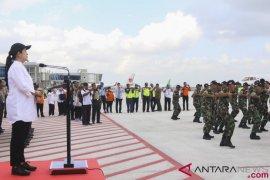 Dansatgas Pascagempa Lombok pulangkan 200 prajurit Yonzikon