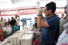 Pedagang sayur minta Sandiaga wujudkan harga stabil