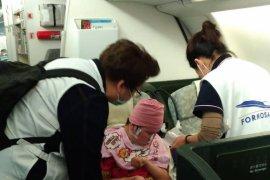 TKI Stroke di Taiwan Dipulangkan
