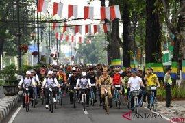 Presiden Hadiri Bandung Lautan Sepeda