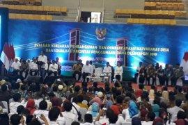 Presiden Jokowi temui para kades di Sumsel evaluasi penggunaan dana desa