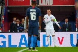 Rooney ucapkan selamat tinggal meski tidak ada gol perpisahan