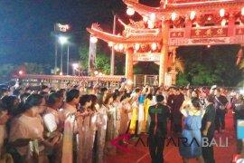 """Ribuan masyarakat ikuti """"Chau Tu dan Yen Kung"""" di Bali"""